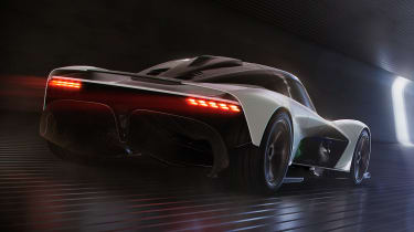 Aston Martin 003 concept - rear action