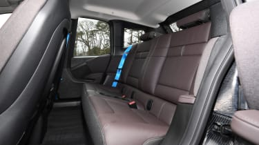 BMW i3 rear seats