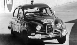 Saab 96 front