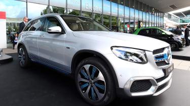 Mercedes GLC F-CELL - Frankfurt front
