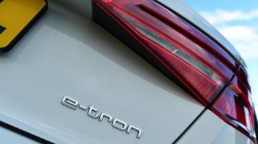 Audi A3 e-tron - e-tron badge
