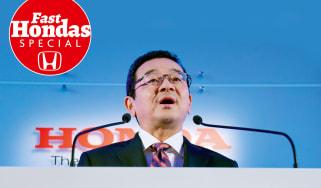 Honda interview Takahiro Hachigo
