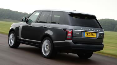 Range Rover SDV6 Vogue rear action