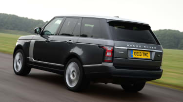 Range Rover SDV6 Vogue rear action