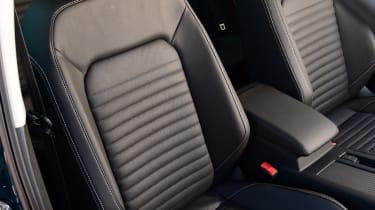 Volkswagen Passat front seats