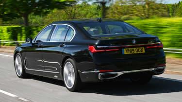 BMW 745Le xDrive - rear