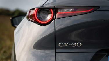 Mazda CX-30 e-Skyactiv X - rear light