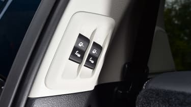 Toyota Land Cruiser - seat controls