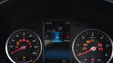 Mercedes C-Class - Instruments