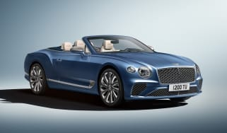 Bentley Continental GT Mulliner Convertible - front 3/4 static