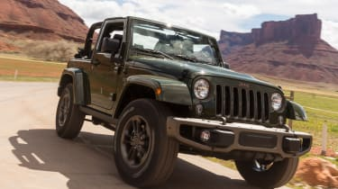 75 years of Jeep - Wrangler 75th
