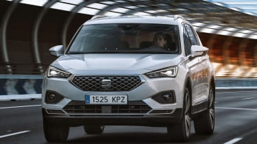 SEAT Tarraco - white front action