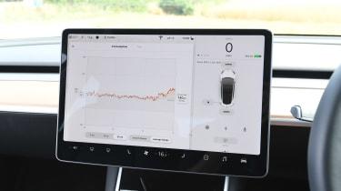 Tesla Model 3 - infotainment