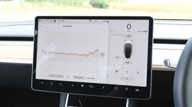Tesla Model 3 - infotainment