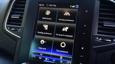 Renault Megane RS - infotainment