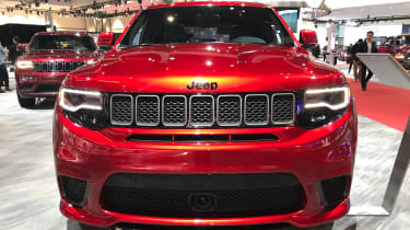 Jeep Grand Cherokee Trackhawk LA head on
