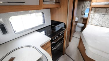 Making a motorhome - inside kitchen