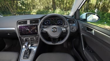 Long-term test - VW e-golf - cockpit