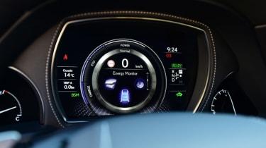 Lexus LS 500h 2018 review - dash dials