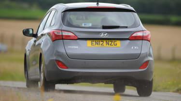 Hyundai i30 Tourer rear action
