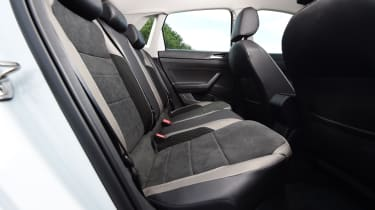 vw polo rear seats legroom