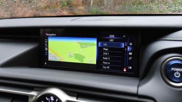 Lexus RC - sat-nav