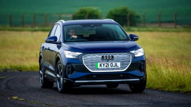Audi Q4 e-tron vs Mercedes EQA