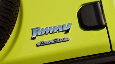 Suzuki Jimny - badge