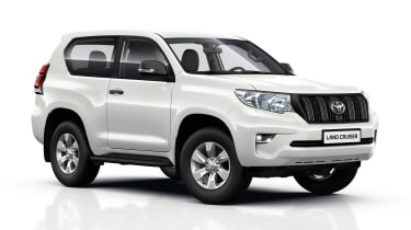 2018 Toyota Land Cruiser - front