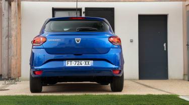 Dacia Sandero 2021 - rear