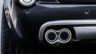 David Brown Automotive Speedback Silverstone edition exhaust tip