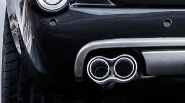 David Brown Automotive Speedback Silverstone edition exhaust tip