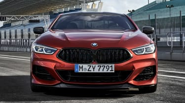 BMW 8 Series - full front static