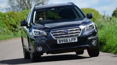 Used Subaru Outback - front action