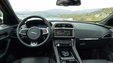 Jaguar F-Pace first drive - interior 2