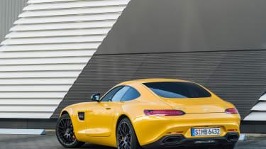 Mercedes-AMG GT S 2017 - rear quarter