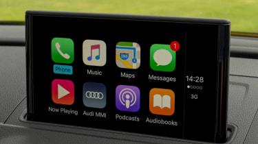 Audi A3 Cabriolet - AppleCarPlay