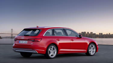 Audi A4 Avant - rear static