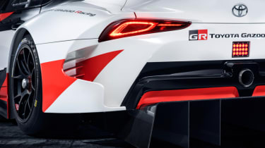 Toyota GR Supra concept tail light