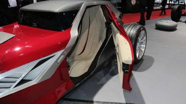 Sbarro Mojave Concept - door open