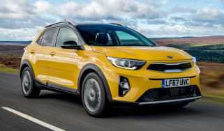 Kia Stonic UK review - front