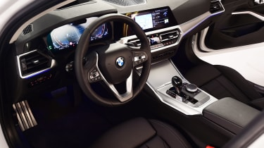 BMW 3 Series - studio interior