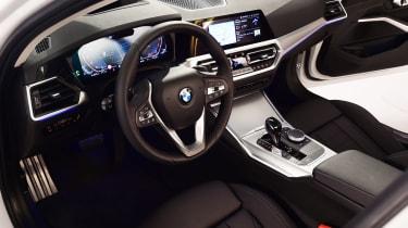 BMW 3 Series - studio interior