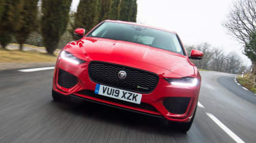 Jaguar XE - full front