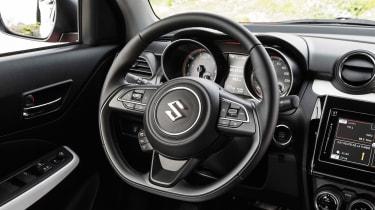New Suzuki Swift 2017 - steering wheel