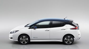 New Nissan Leaf - side