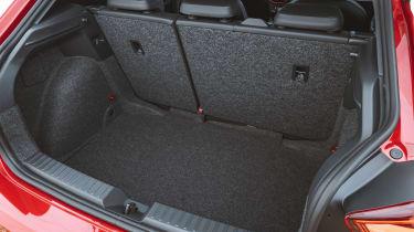 SEAT Ibiza facelift - boot