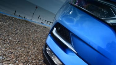 Nissan Qashqai - bumper close up