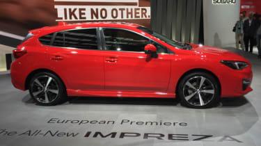2018 Subaru Impreza Frankfurt - side