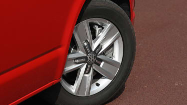 Volkswagen California Ocean long termer - first report wheel